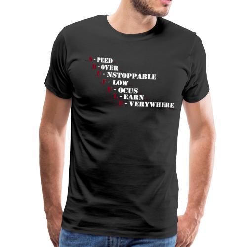 SHUFFLE EVERDAY! - Männer Premium T-Shirt