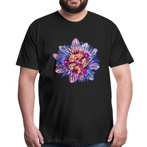 Exotic Passion Flower - Men's Premium T-Shirt