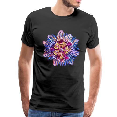 Exotic Passion Flower - Men's Premium T-Shirt
