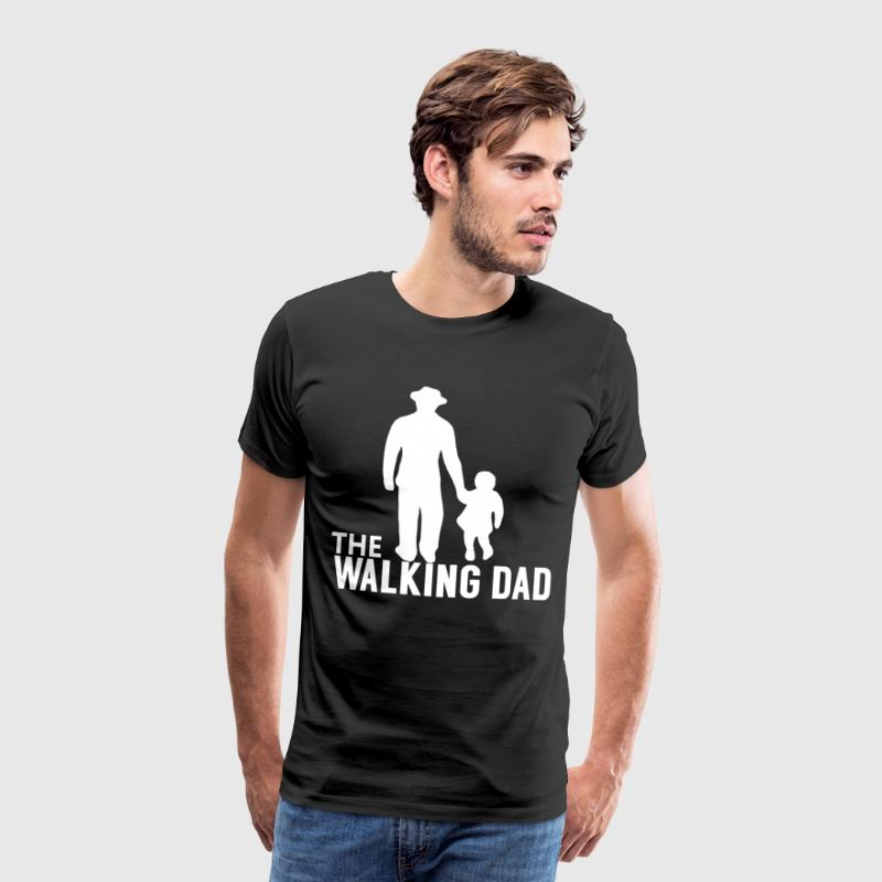 The Walking Papa - Zombie Alarm - - Mannen Premium T-shirt