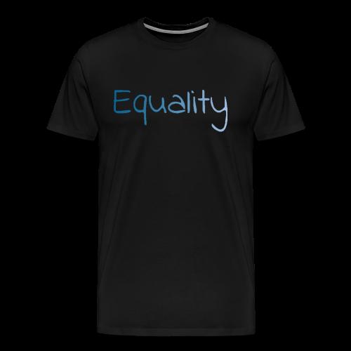 equality - Premium-T-shirt herr