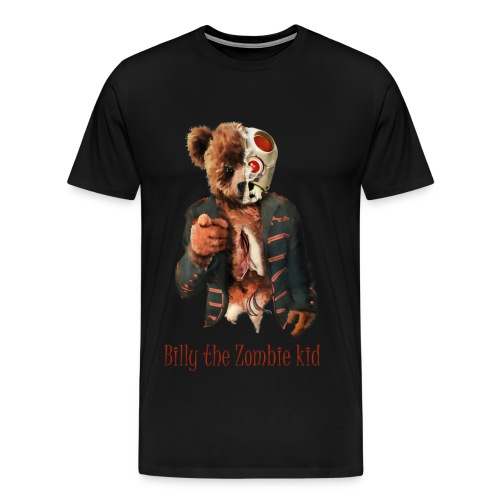 Billy the Zombie kid T-shirt. - Premium-T-shirt herr