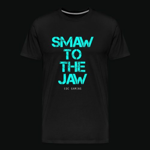 SMAW TO THE JAW - Men's Premium T-Shirt