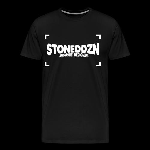 Da ist das YouTube Logo von StonedDzn - Männer Premium T-Shirt