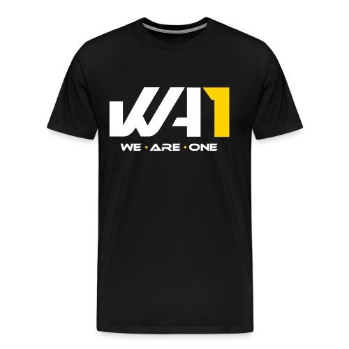 Wir sind ein Logo (weiße Schrift) - Männer Premium T-Shirt