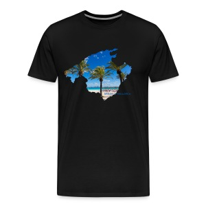 Mallorca Map - Dream of Mallorca - Männer Premium T-Shirt