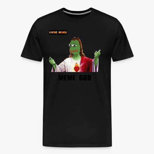 living memes - Men's Premium T-Shirt
