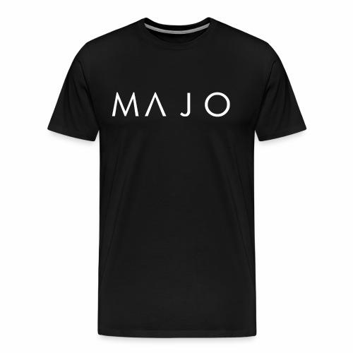 Official MAJO Logo - Premium-T-shirt herr
