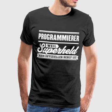 Superheld Programmierer - Männer Premium T-Shirt