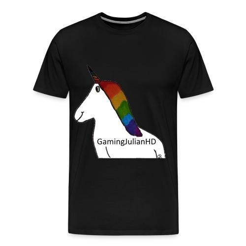 Einhorn gezeichnet - Männer Premium T-Shirt