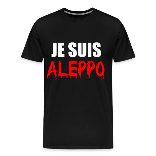 Je Suis Aleppo - Männer Premium T-Shirt