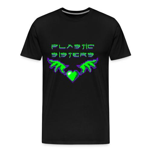 pixheartsisgreen2 Kopie - Männer Premium T-Shirt