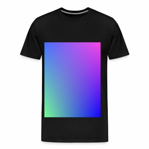 Dégradé tamisé de l'été - T-shirt Premium Homme