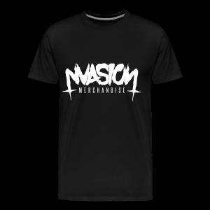 Logo white vec - Men's Premium T-Shirt