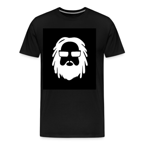 AFROJAZZ ALL BLACK - T-shirt Premium Homme