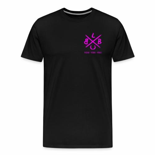 ballerbude pink groß - Männer Premium T-Shirt