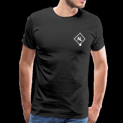 No Limits Logo Weiß - Männer Premium T-Shirt