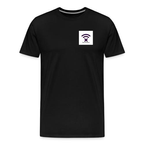 No Connection Badge Kollektionen - Herre premium T-shirt
