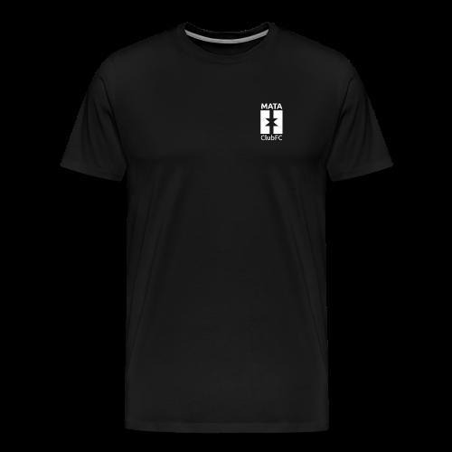 Basic White | Mata Club Football Culture - Maglietta Premium da uomo