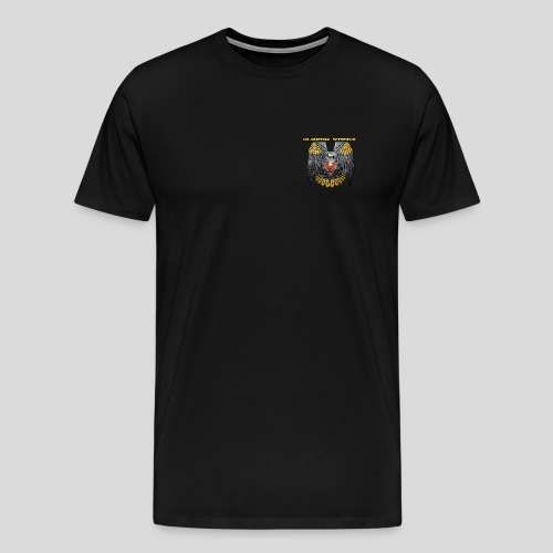 Logo + Nom - T-shirt Premium Homme