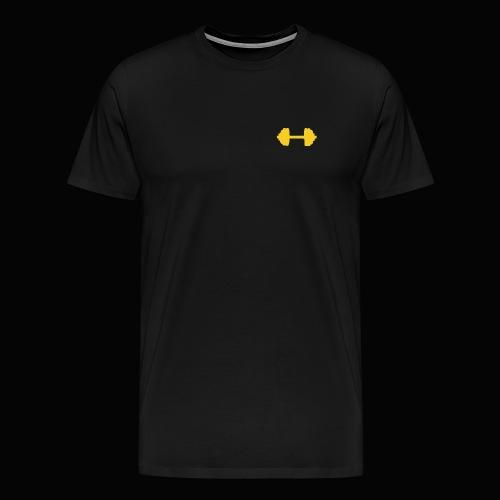 Hantel - Männer Premium T-Shirt