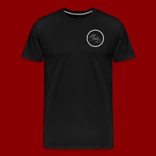 Logo Rond / Blanc - T-shirt Premium Homme