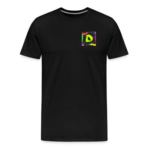 Logo de drek sur la poitrine - T-shirt Premium Homme