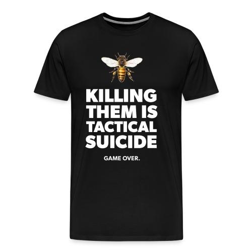 Ein Statement für die Bienen - Männer Premium T-Shirt