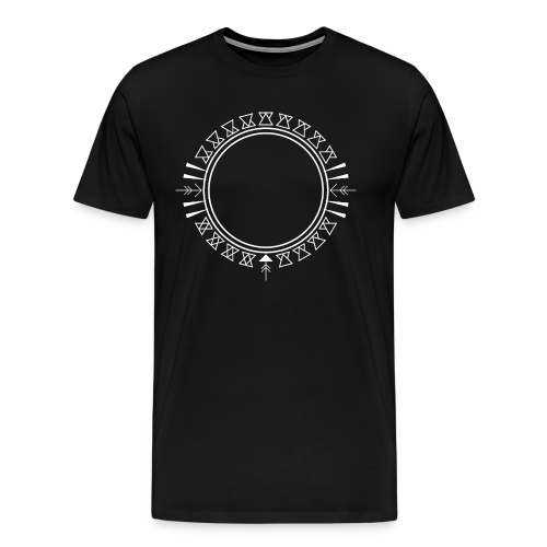 Azteken Dreieck Verzierung - Männer Premium T-Shirt