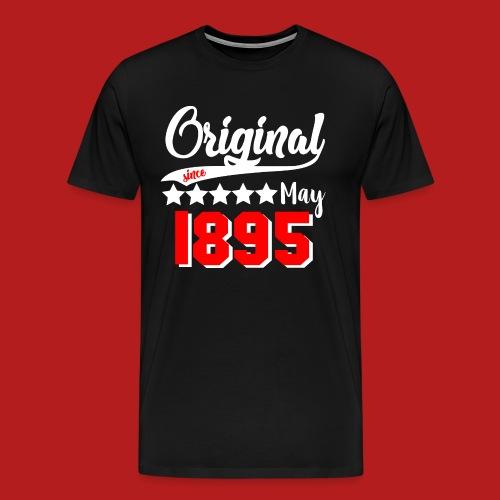 Original since May 1895 weiß - Männer Premium T-Shirt