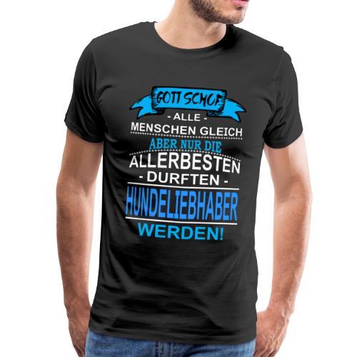 Gott schuf alle Menschen gleich ... - Männer Premium T-Shirt