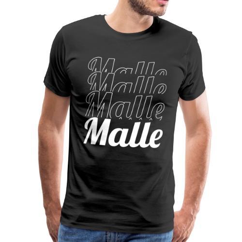 Mallorca Malle - Männer Premium T-Shirt
