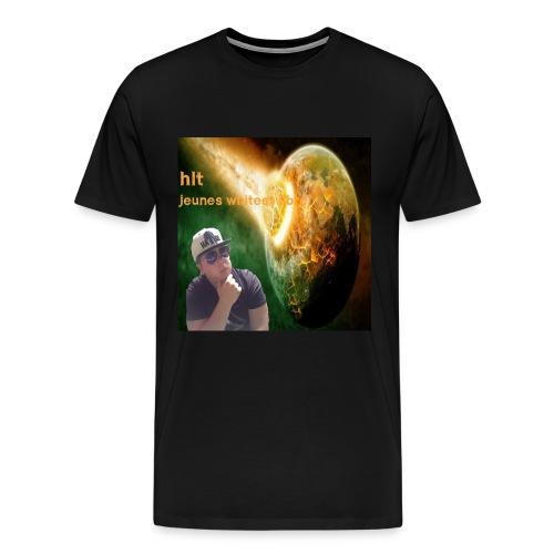 te -shirt pochette ablum HLT - T-shirt Premium Homme