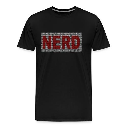 1100101 Nerd - Männer Premium T-Shirt