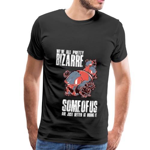Gothic Totenkopf Schwarz - Männer Premium T-Shirt