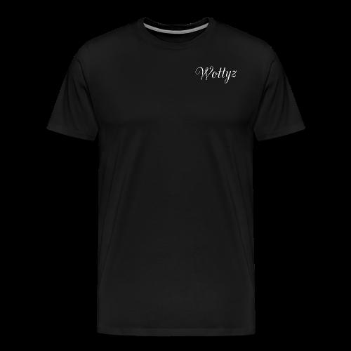 Wottyz First Edition - Men's Premium T-Shirt