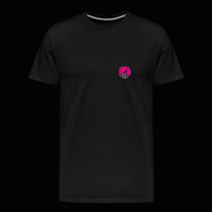 Logo cercle magenta - T-shirt Premium Homme