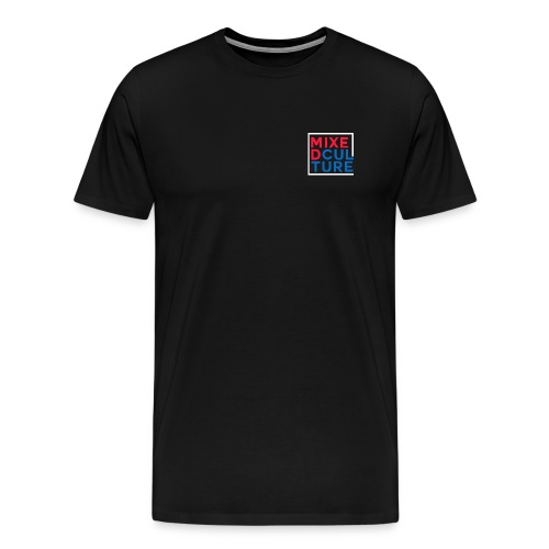 Mixed Culture Box White - Mannen Premium T-shirt
