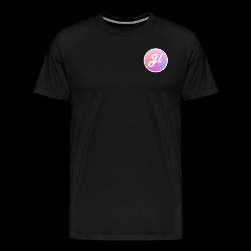 Just Lewis Circle Logo - Men's Premium T-Shirt