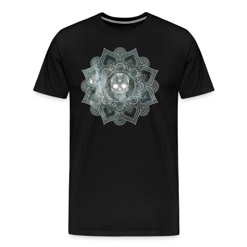 Mandala Skull - Männer Premium T-Shirt