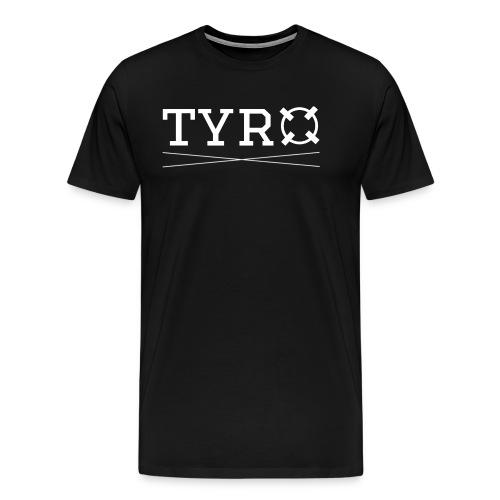Tyro Logo weiß - Männer Premium T-Shirt
