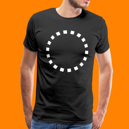 Kubus Ring - Männer Premium T-Shirt