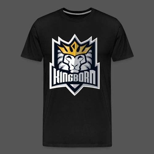 KingbornWhite - Männer Premium T-Shirt