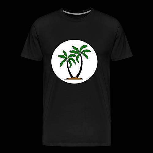 Palmkreisel - Men's Premium T-Shirt