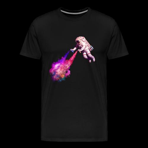 Disparando estrellas - Camiseta premium hombre