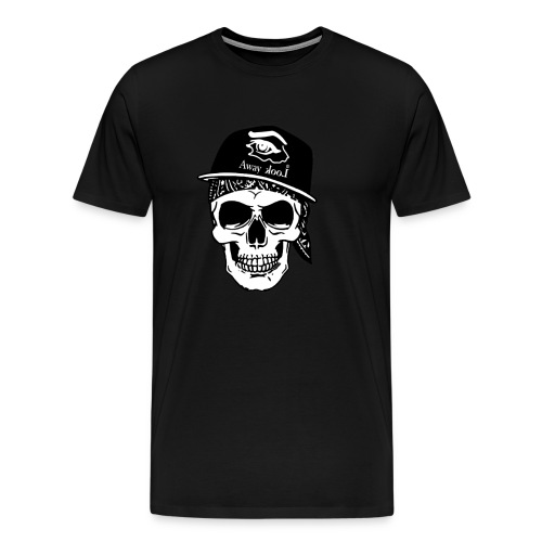 teschio rap - Maglietta Premium da uomo
