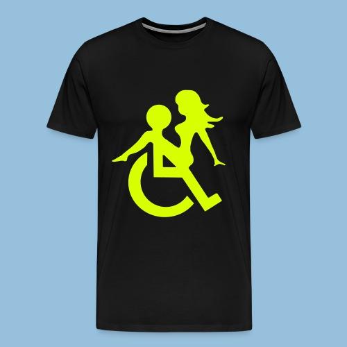 Wheelchairlove - Mannen Premium T-shirt