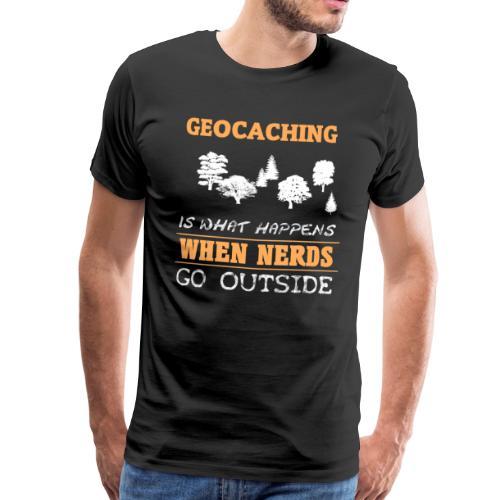 When Nerds - Männer Premium T-Shirt