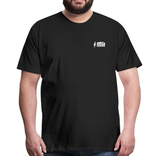 Mammoth Hunters / Icono Blanco - Camiseta premium hombre