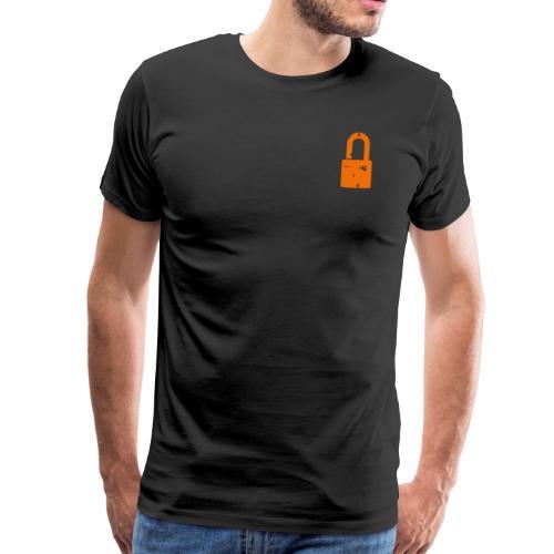 The Padlock - Men's Premium T-Shirt